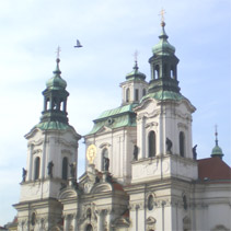 SAINT NICHOLAS CHURCH PRAGUE PRAHA